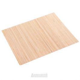 Салфетка сервировочная, 41х30см, натуральный, бамбук