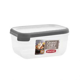 Емкость для морозилки и СВЧ GRAND CHEF прямоугольная, 1.8л, пластик 07389-03