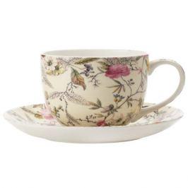 Пара чайная MAXWELL & WILLIAMS Летние цветы, 250мл, фарфор, MW637-WK03250