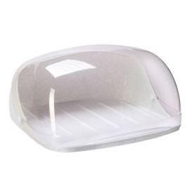 Хлебница Idea, 15х31,5х25,4см, пластик, серый М1180