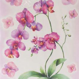 Набор наклеек ДЕКОРЕТТО, Акварельная орхидея 35х50 см, винил