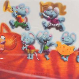 Набор наклеек ДЕКОРЕТТО, Кошки-мышки, 50х70 см, винил