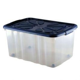 Ящик для хранения ПОЛИМЕРБЫТ, 60х40х30см, универсальный, на колесах, пластик