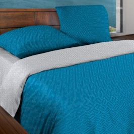 Комплект постельного белья Wenge Серебряная лазурь 1, 5-спальный, наволочка 70х70см 2шт, бязь