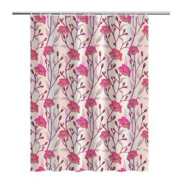 Занавеска для ванной комнаты Sakura 180x180см, полиэстер LT19048