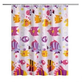 Занавеска для ванной комнаты Fisher 180x180см, полиэстер LT19047