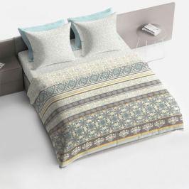 Комплект постельного белья Bravo Агава Евро, наволочка 70х70см 2шт, поплин