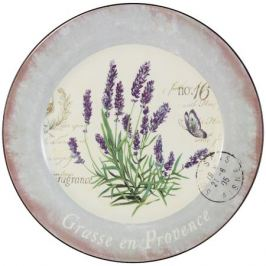 Набор обеденных тарелок ANNA LAFARG LF CERAM Лаванда 2 шт. 25см, керамика, AL-120E2257-L-LF