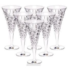 Набор бокалов для вина BOHEMIA JIHLLAVA Chelsey 6шт 250мл хрусталь, 93/19J20/0/93K87/250