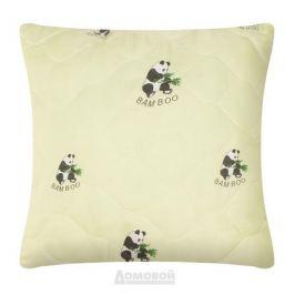 Подушка Бамбук Home Decor, 68х68см, искусственный перкаль, 100% полиэстер