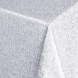 Скатерть Linetex, 180х150см, белый, 88% пэ, 12% хлопок, тефлон
