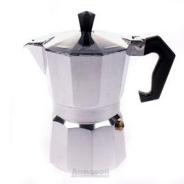 Кофеварка гейзерная, алюминий, 150 мл