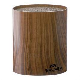 Подставка для ножей WALMER Wood, 16x7x16см, пластик W08002203