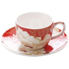 Набор кофейный MAXWELL & WILLIAMS Кимоно красный 2/4пр 100млфарфор, MW637-PK0403