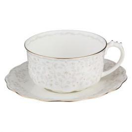 Пара чайная Вивьен, 375мл, фарфор