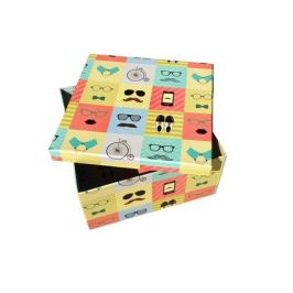 Коробка подарочная квадрат 20х20х18см