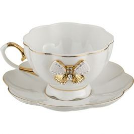 Пара чайная Бантик 200мл фарфор
