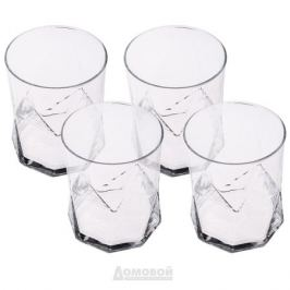 Набор стаканов BORMIOLI Cassiopea 4шт 410мл стекло, Б0031489