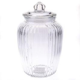 Банка для хранения продуктов HOME CAFE Onda, 11*25см, стекло B2017-109-3