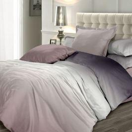 Комплект постельного белья Унисон Омбре Кофейный фраппе 2-спальный, наволочка 70х70см, сатин