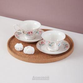 Набор чайный Мадемуазель Кики, 6 персон, 12 предметов, 200мл, фарфор