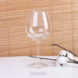 Набор бокалов для вина CRYSTALITE BOHEMIA Гастро (КОЛИБРИ) 6шт 650мл стекло, 4S032/650
