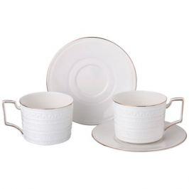 Набор чайный 2 персоны, 4 предметаедмета 300мл фарфор