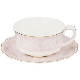 Пара чайная Розовые огурцы 375мл, фарфор
