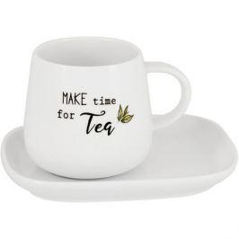 Пара чайная EASY LIFE Kitchen Elements 275мл, фарфор, EL-R1904/KITE