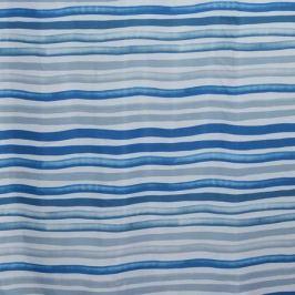 Занавеска для ванной комнаты STUDIOTEX Stripes Blue 180х180см см, полиэстер 6128034