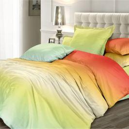 Комплект постельного белья Унисон Омбре Мятный апельсин 2-спальный, наволочка 70х70см, сатин