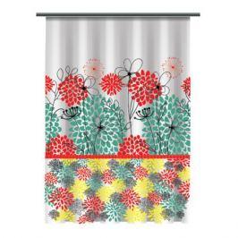 Занавеска для ванной комнаты Bouquet 180x180 см, PEVA SI19061