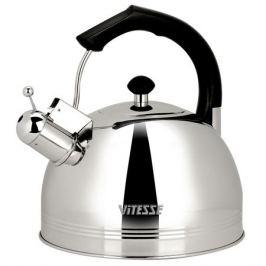 Чайник со свистком Vitesse VS-7814, 3,7 л, нержавеющая сталь, индукция