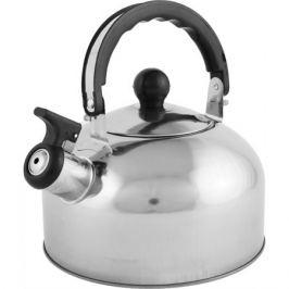 Чайник со свистком Casual, 2 л, нержавеющая сталь