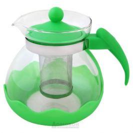 Чайник заварочный Домовой, 1,5л, стекло/пластик