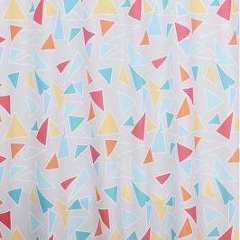 Занавеска для ванной комнаты BATH PLUS Triangles 180х200см, полиэстер ch15048