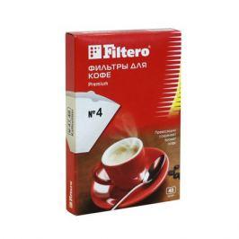 Фильтры для заваривания кофе, №4/40, белые