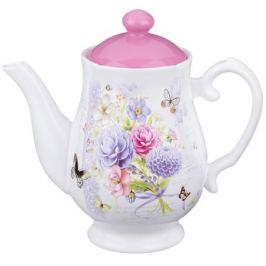 Заварочный чайник AGNESS Георгина 1000мл, керамика, 358-885