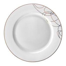 Тарелка обеденная ESPRADO Leontina 22,5см, костяной фарфор, LEO023GE308