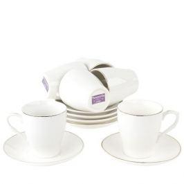 Набор кофейный NOUVELLE Классика 12 предметов 90мл, фарфор, 2930084