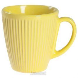 Кружка HOME CAFE 250 мл желтая, керамика