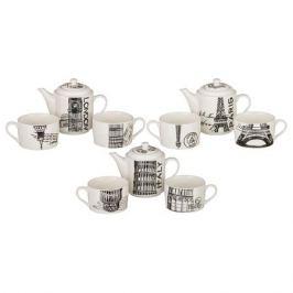 Набор чайный LEFARD Лондон 2 персоны, 3 предмета 450/200мл, фарфор, 495-803