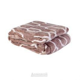 Плед Caramel HOME DECOR, 200х220 см, коричневый, микрофибра