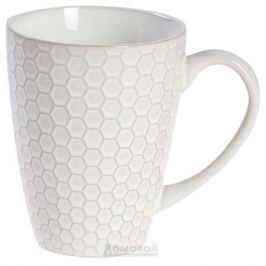 Кружка HOME CAFE Соты 330 мл, 8,6x11 см, керамика