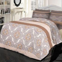 Комплект постельного белья Креп Евро, наволочка 50х70 см 2шт, дизайн 8158