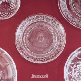 Тарелка Домовой десертная 18см, стекло