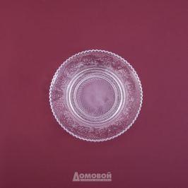 Блюдце Домовой 15см, стекло