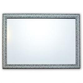Зеркало настенное в багетной раме Мозаика Silver, 50х70см, серебро