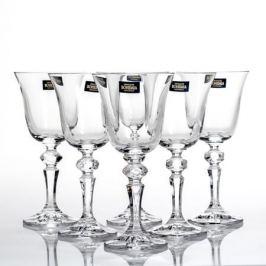 Набор бокалов для вина CRYSTALITE BOHEMIA Роза (Фалко) 6шт 170мл, стекло, 40707/170S