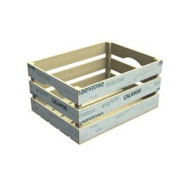 Ящик для хранения Гарден белый 20х30х40см